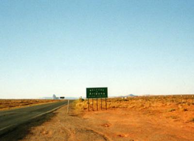 アリゾナ標識