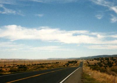 アメリカの一本道