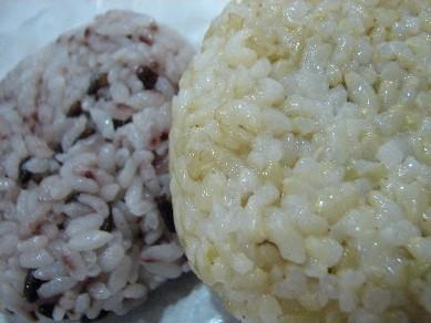 玄米おにぎり