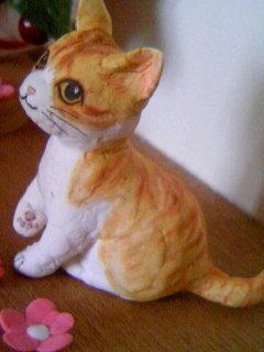 紙粘土きんちゃん人形