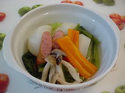 カブと野菜の煮物