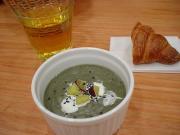 作ったスープ