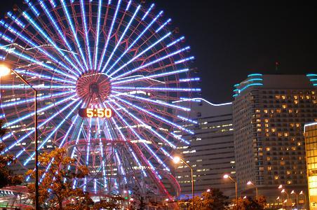 横浜は綺麗だわね