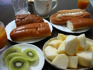 お正月明けの朝御飯
