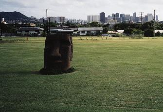 HAWAII ビショップミュージアム前庭