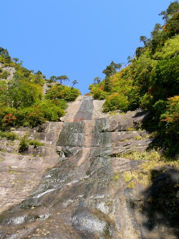071006 安の滝 上の滝の別の流れ