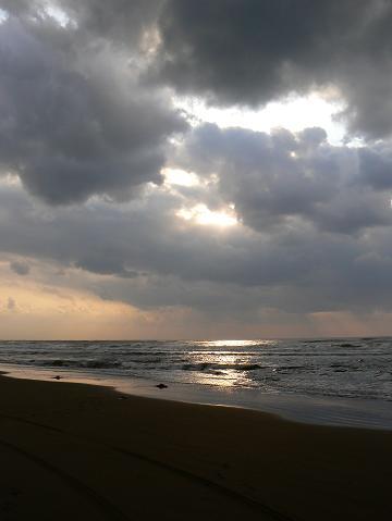 071208 日本海に陽が射す