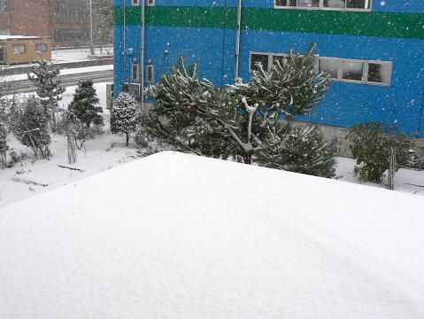 071119 雪景色 南東側