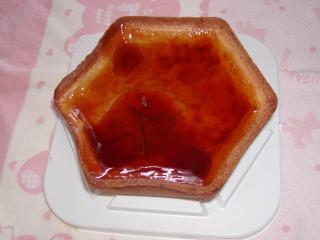 焼きプリンタルト