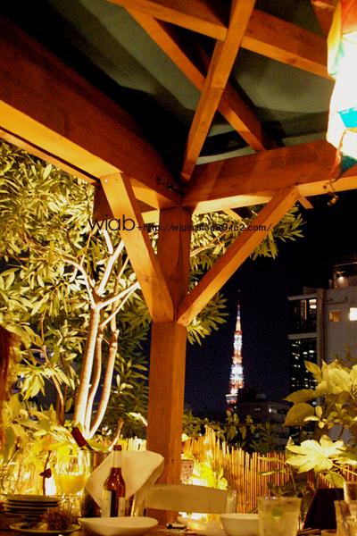 東京タワーが観えます。