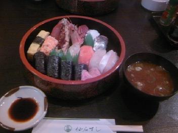 やっと寿司が