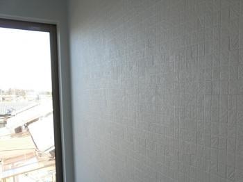 3畳壁のクロス