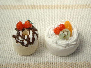 フルーツケーキ・シフォンケーキ