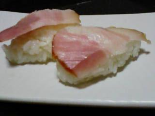 ベーコン寿司