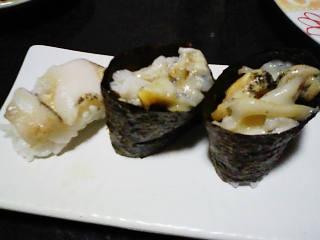 ツブガイ寿司