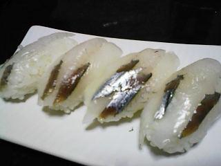 サヨリ寿司