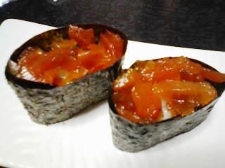 福神漬け寿司