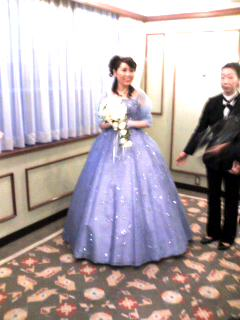 披露宴(色ドレス)