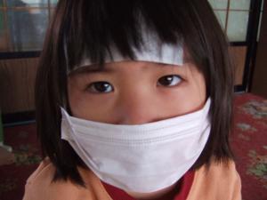 インフルエンザな長女1