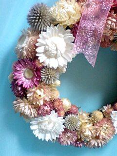 お花いっぱいリース2